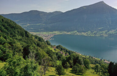 2-family house with a rarely beautiful view  in Arth SZ