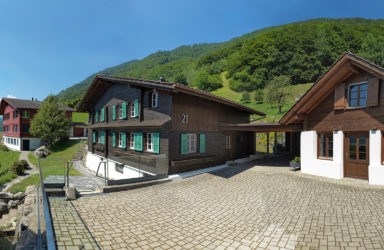 Farmhouse - holiday home - studio / garage with beautiful lake view  in Lungern/Bürglen