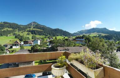 An schöner Aussichtslage: Einfamilien-/Ferienhaus mit separatem Studio  in Oberiberg SZ