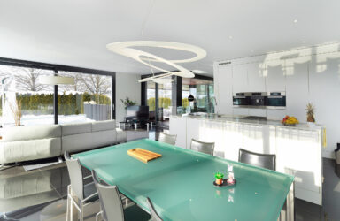 Exklusive, moderne 338 m2 Hightech-Villa  in Hünenberg
