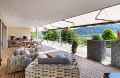 Exklusives 202 m2 Terrassen-Apartment Luxuriöser Wohntraum an fantastischer Aussichtslage in Unterägeri